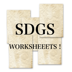SDGs Worksheets
